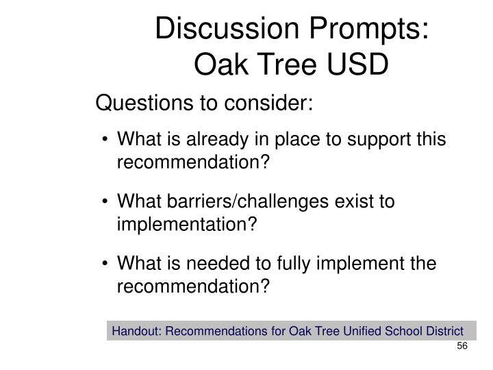 Discussion Prompts: