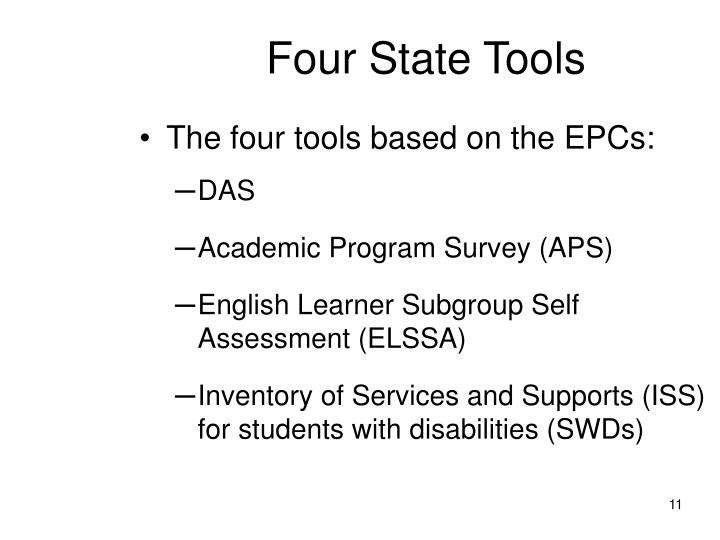 Four State Tools