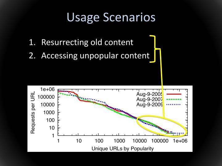 Usage Scenarios