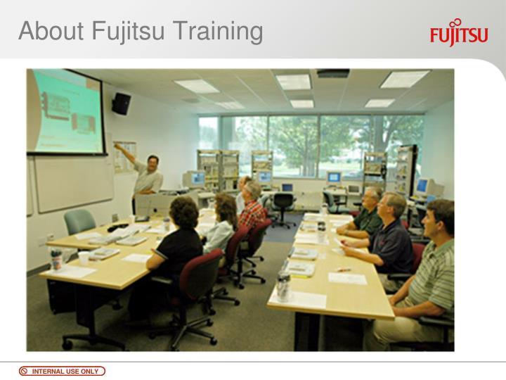 About Fujitsu Training