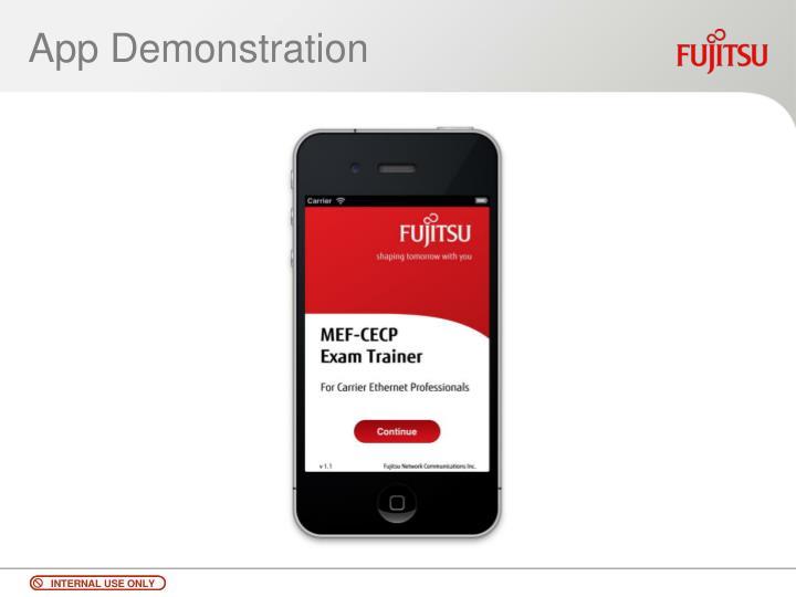 App Demonstration