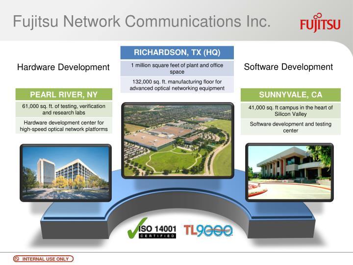 Fujitsu network communications inc