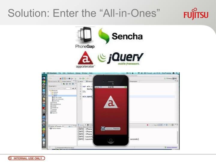 """Solution: Enter the """"All-in-Ones"""""""