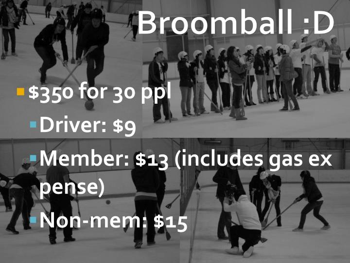 Broomball :D