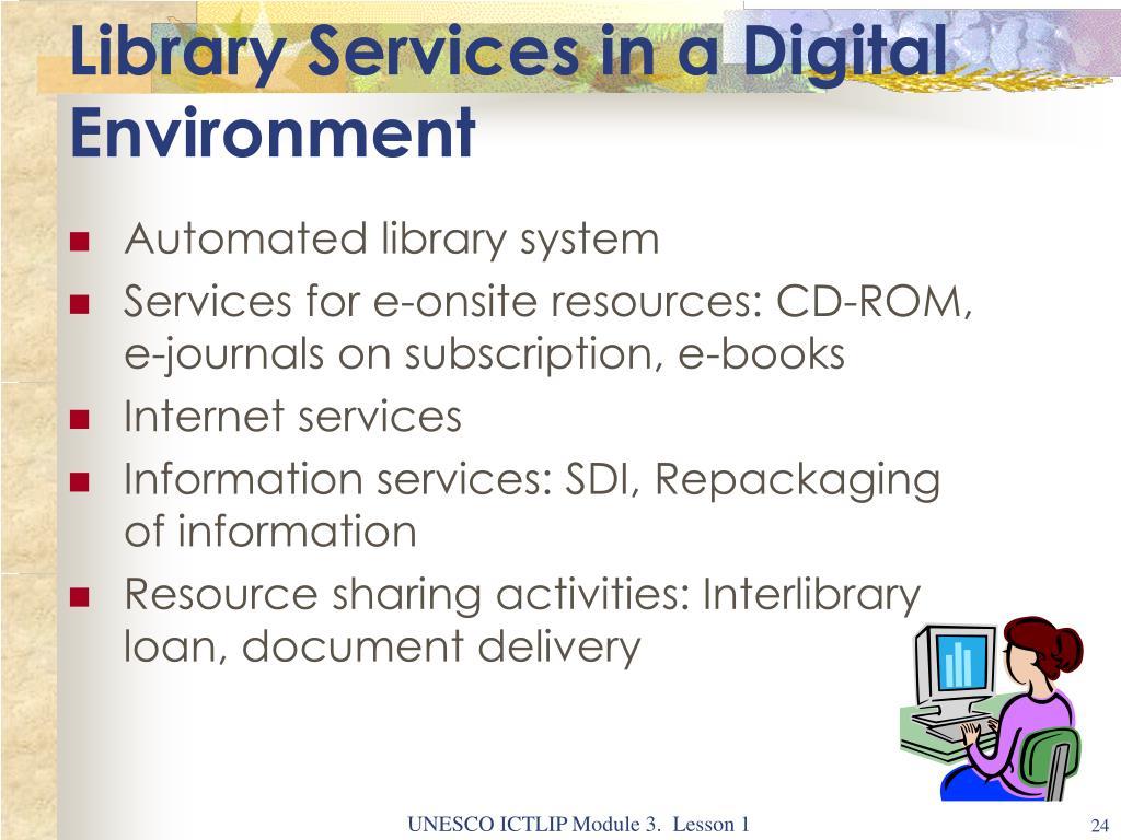 PPT - ICTLIP Module 3  Information Seeking in An Electronic