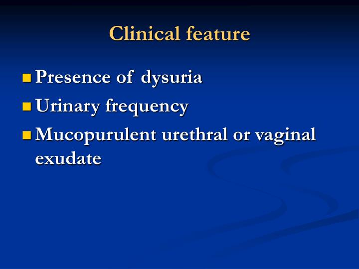 Clinical feature