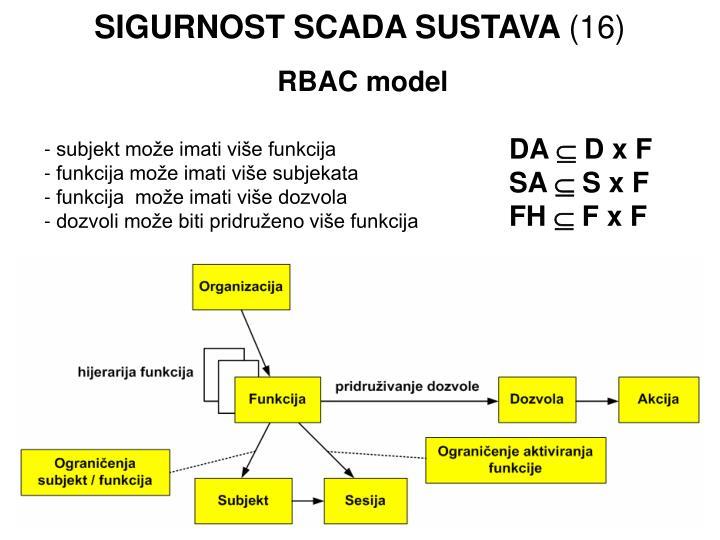 SIGURNOST SCADA SUSTAVA