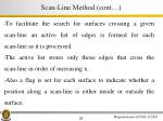scan line method cont1