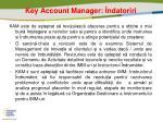 key account manager ndatoriri