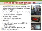 poveste de succes in romania ttt