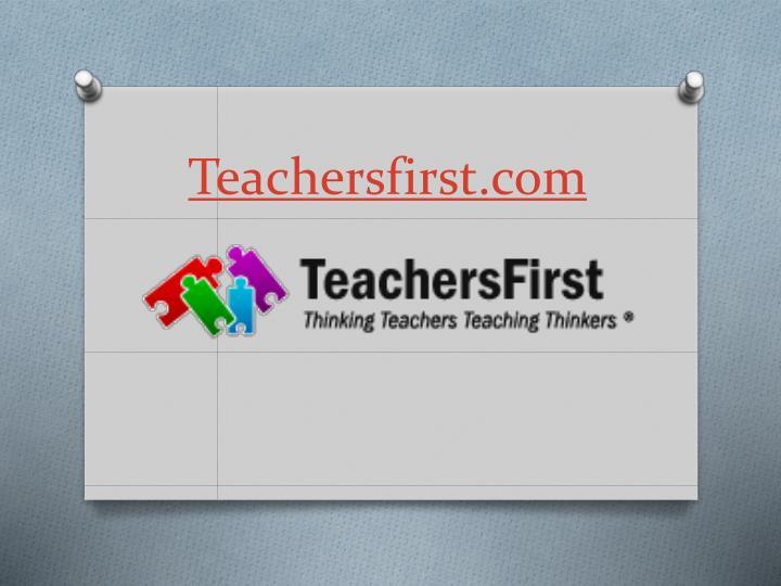 Teachersfirst.com
