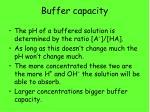 buffer capacity1