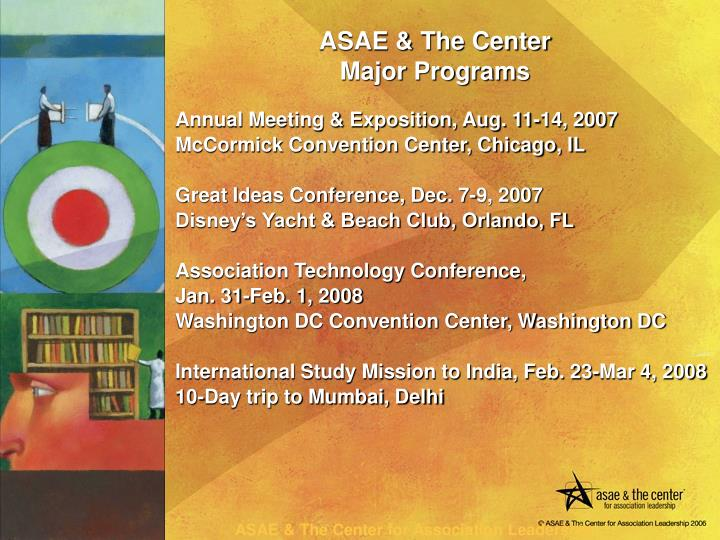 Annual Meeting & Exposition, Aug. 11-14, 2007