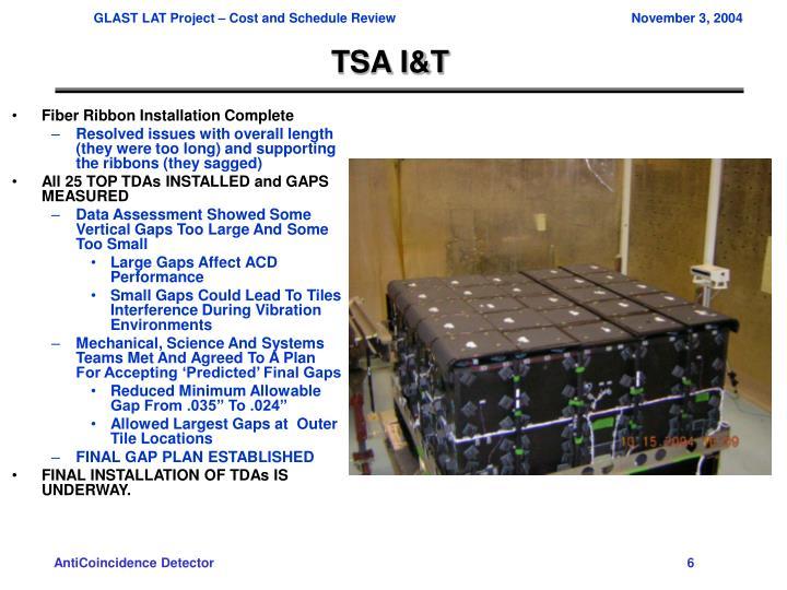 TSA I&T