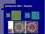 ashikhmin 2001 results
