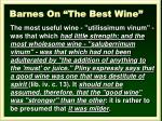barnes on the best wine1