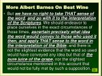 more albert barnes on best wine1