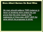 more albert barnes on best wine2