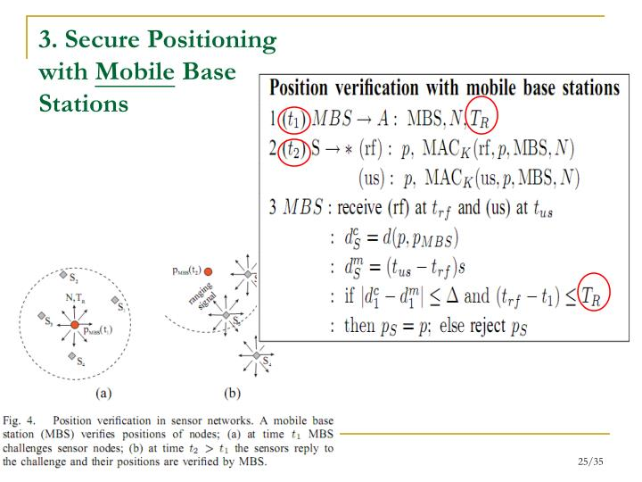 3. Secure Positioning