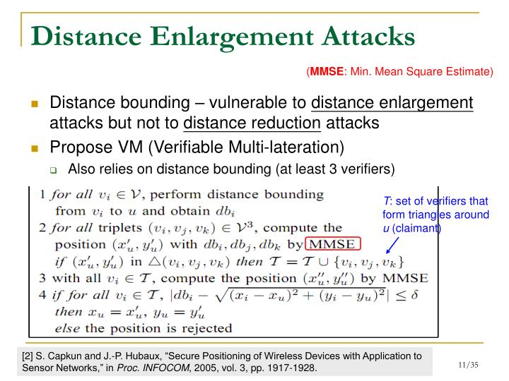 Distance Enlargement Attacks