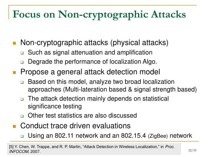 Focus on Non-cryptographic Attacks