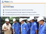 waterlinks activities