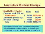 large stock dividend example1