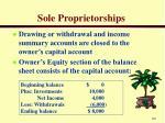 sole proprietorships2