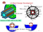 lq mech design development