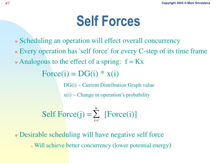 Self Forces
