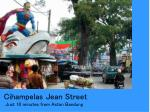 cihampelas jean street just 10 minutes from aston bandung