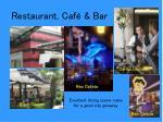 restaurant caf bar