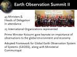 earth observation summit ii