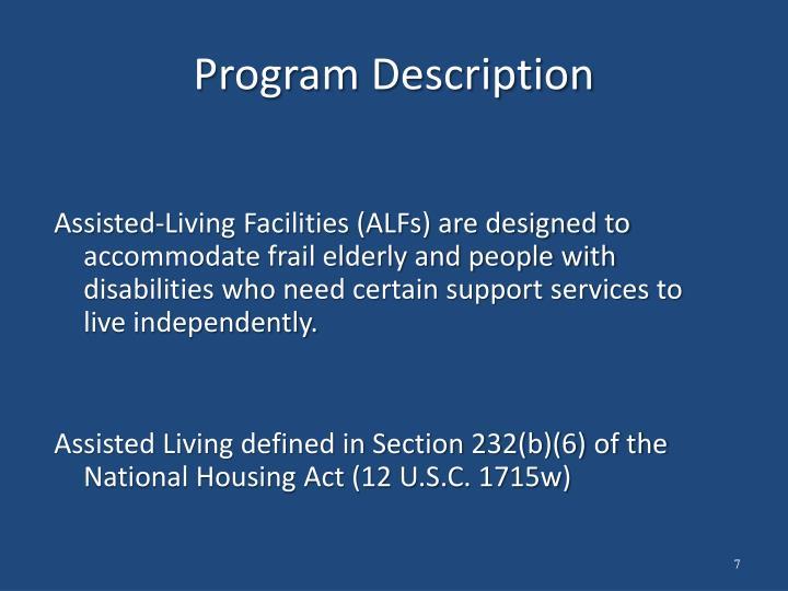 Program Description