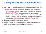 3 early restart and critical word first