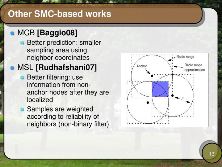 Other SMC-based works