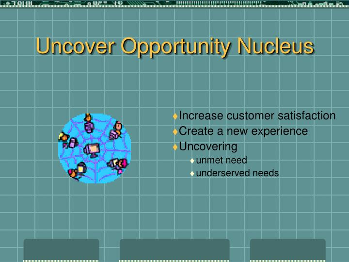 Uncover Opportunity Nucleus