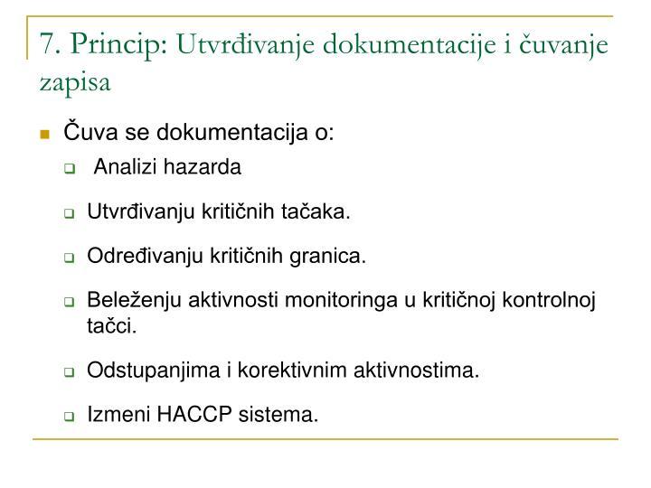 7. Princip:
