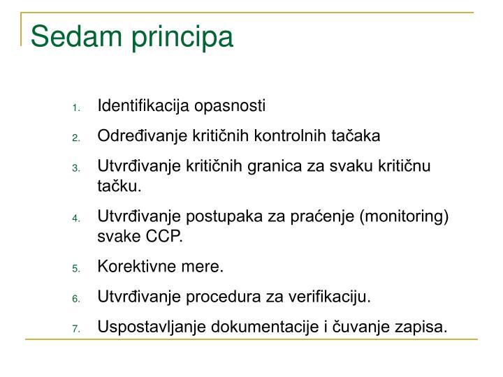 Sedam principa