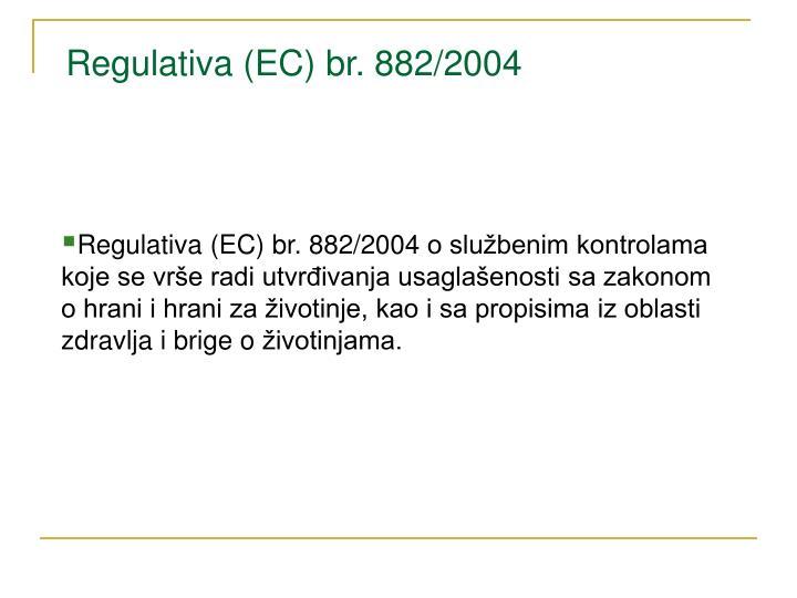 Regulativa (EC) br.