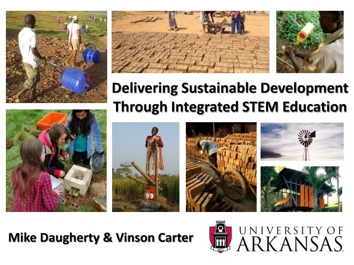 delivering sustainable development through integrated stem education n.