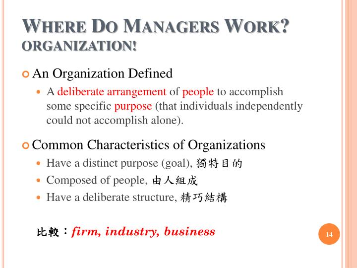 Where Do Managers Work?