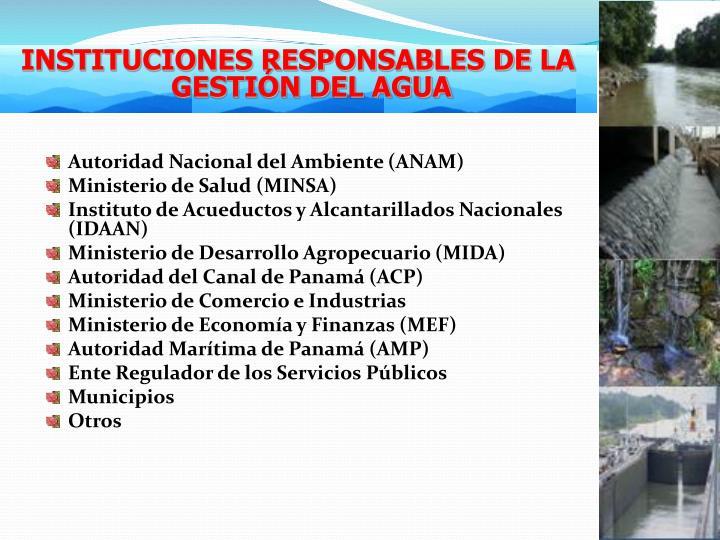 Autoridad Nacional del Ambiente (ANAM)