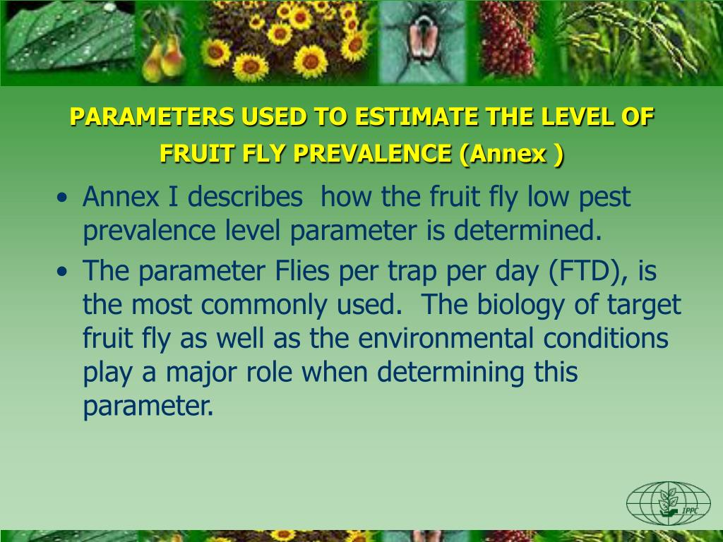 PPT - ESTABLISHMENT OF AREAS OF LOW PEST PREVALENCE FOR