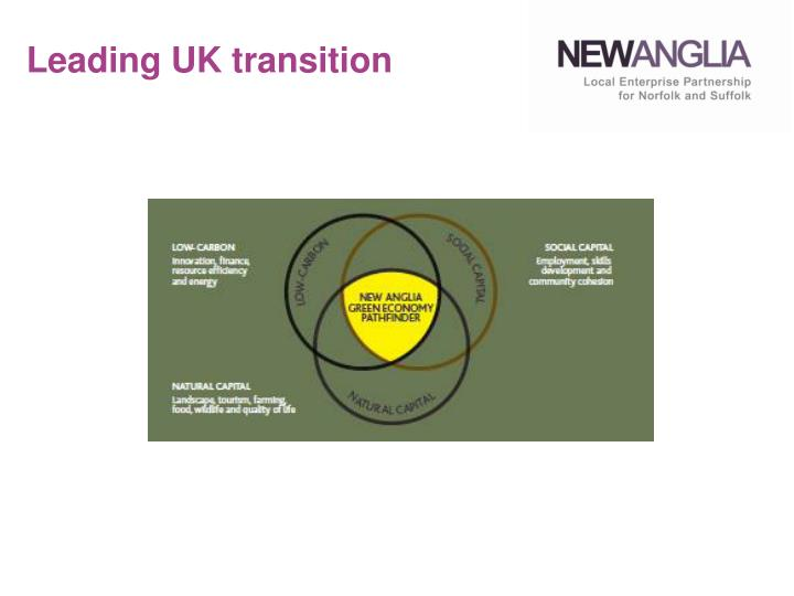 Leading UK transition