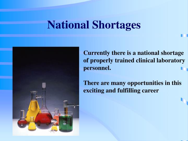 National Shortages