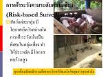 risk based surveillance