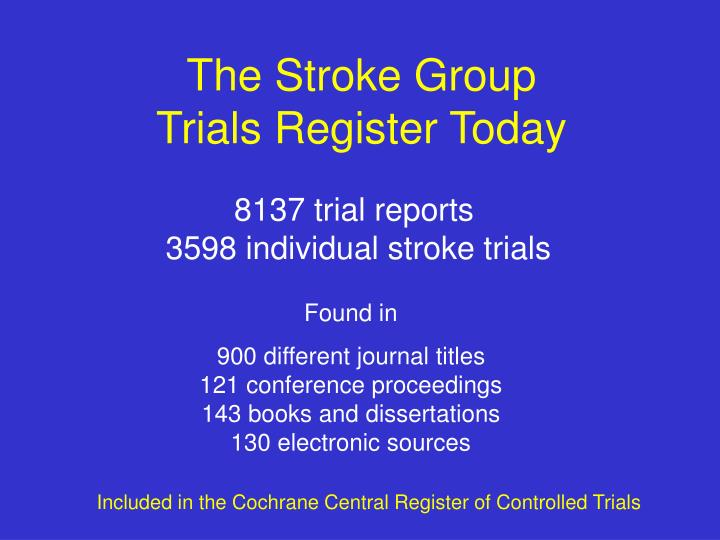 The Stroke Group