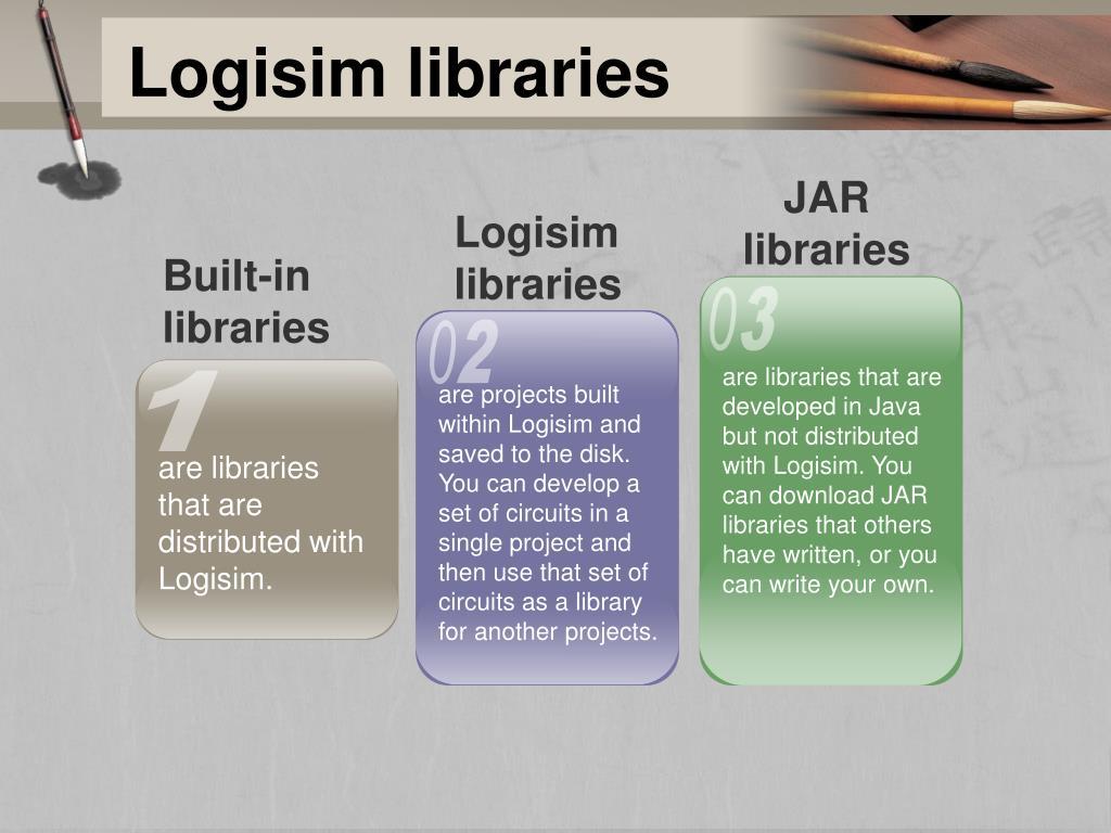 PPT - Logisim program PowerPoint Presentation - ID:3885495