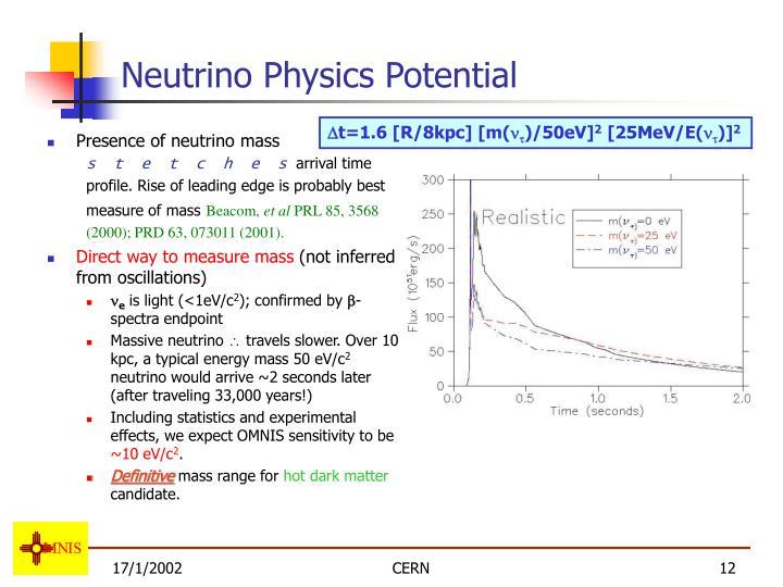 Neutrino Physics Potential